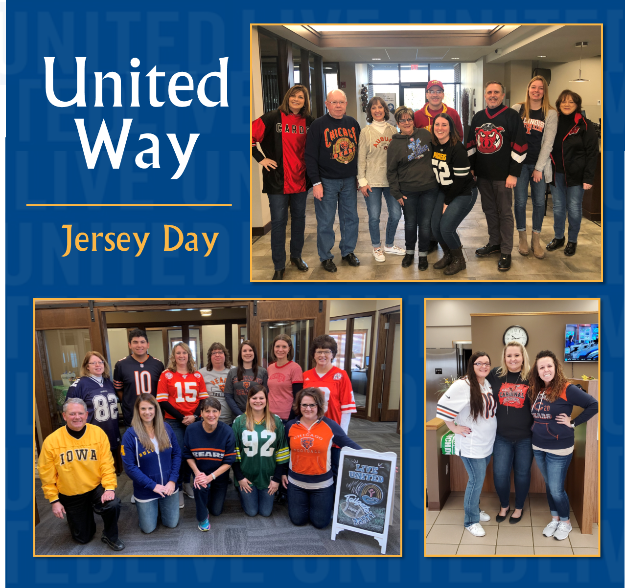 United Way Jersey Day