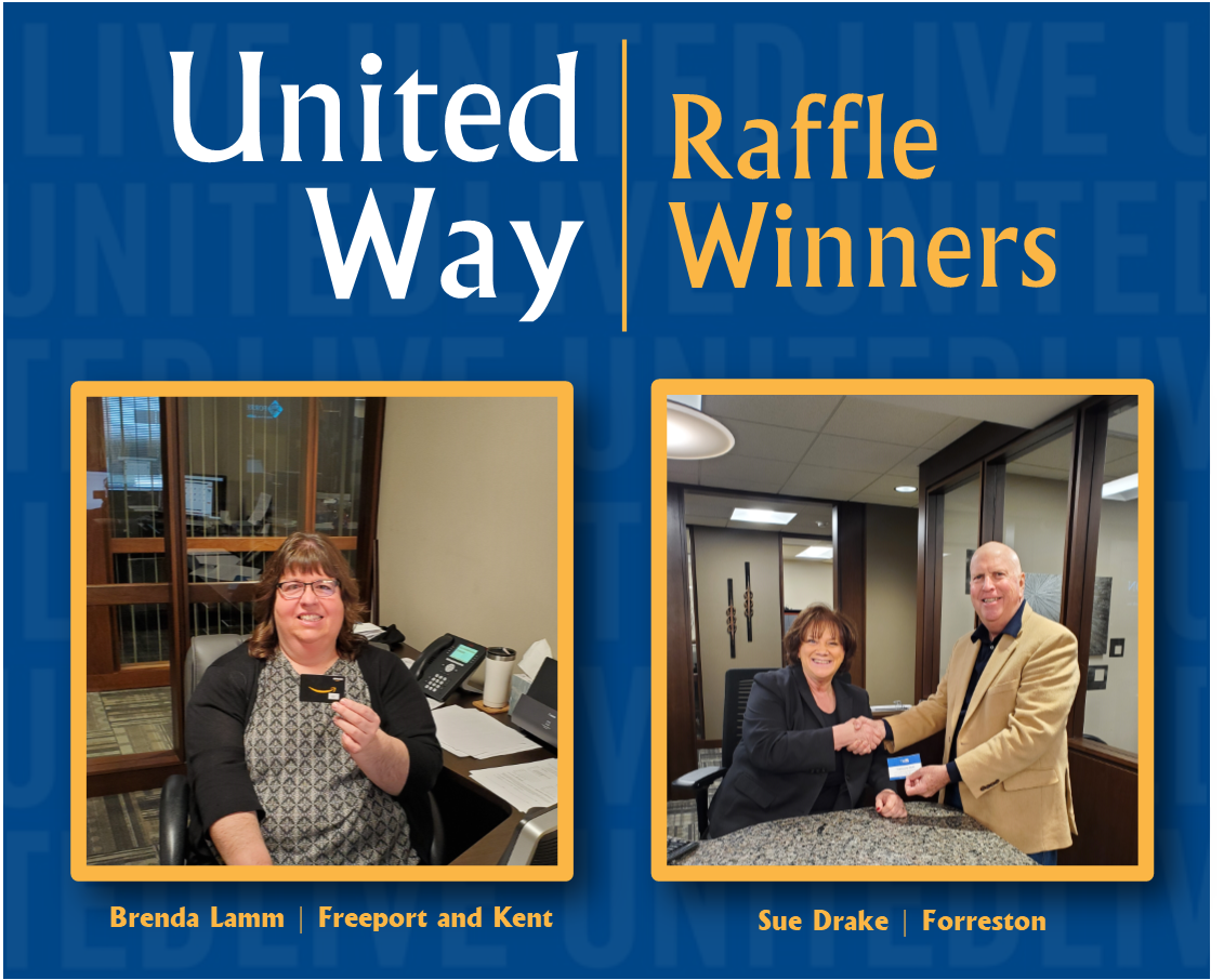 United Way Raffle Winner