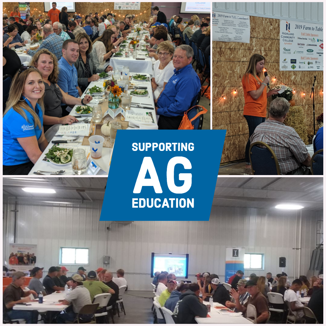 Farm to table - Crop research day Insta