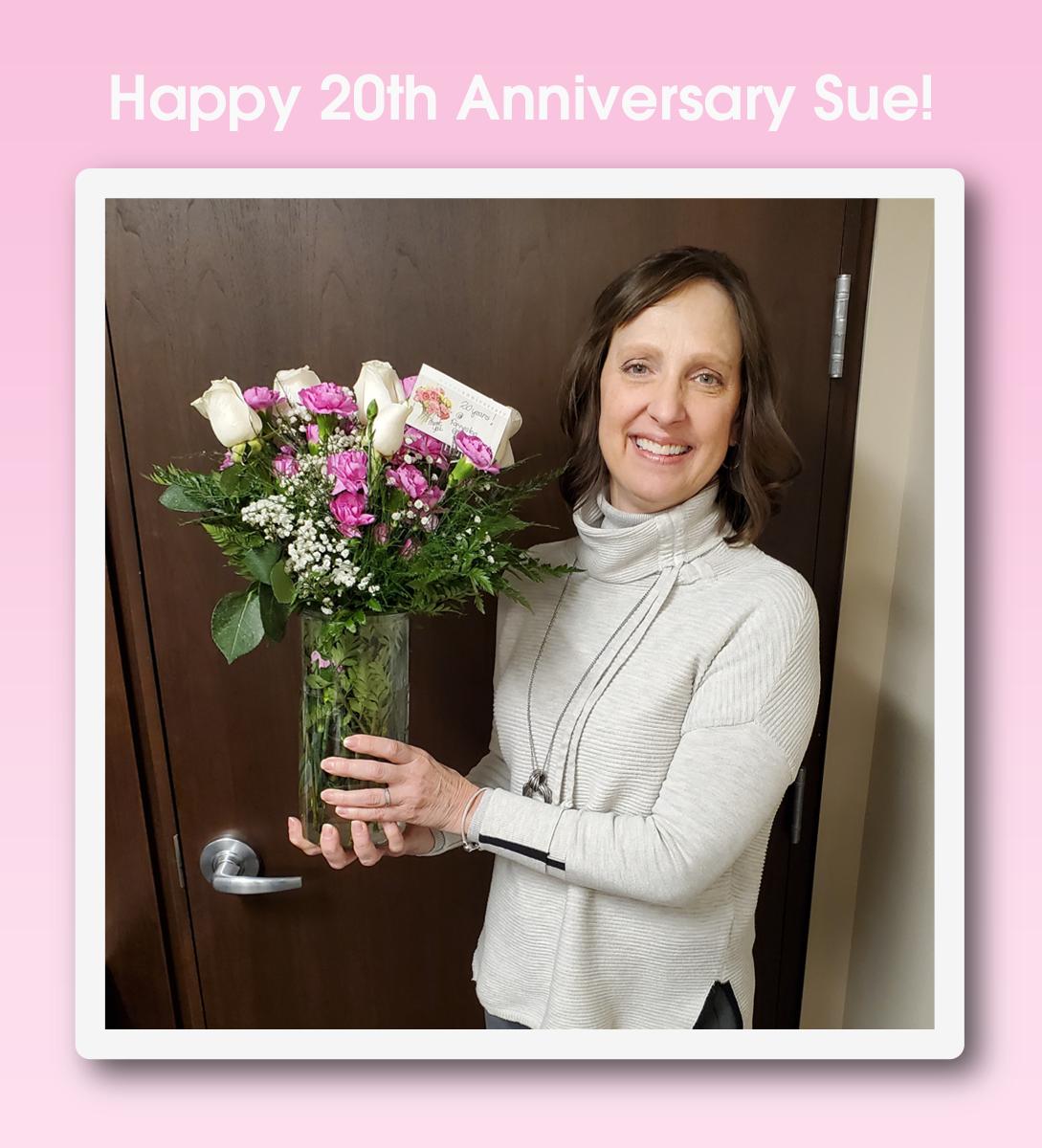 Sues 20th Anniversary